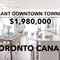 luxury townhouses for sale Toronto
