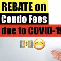 Rebate on condo fees